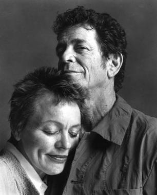 Laurie Anderson e Lou Reed (foto Guido Harari/Contrasto/Redux)