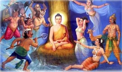 Le tre figlie di Mara tentano il Buddha