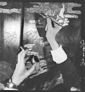 François Kollar , Les mains de Coco Chanel