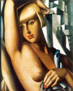 Suzy Solidor ritratta dalla sua amante Tamara de Lempicka
