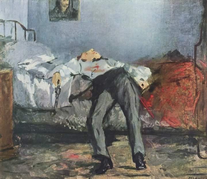 Édouard Manet, Le suicidé 1877-1881.jpg